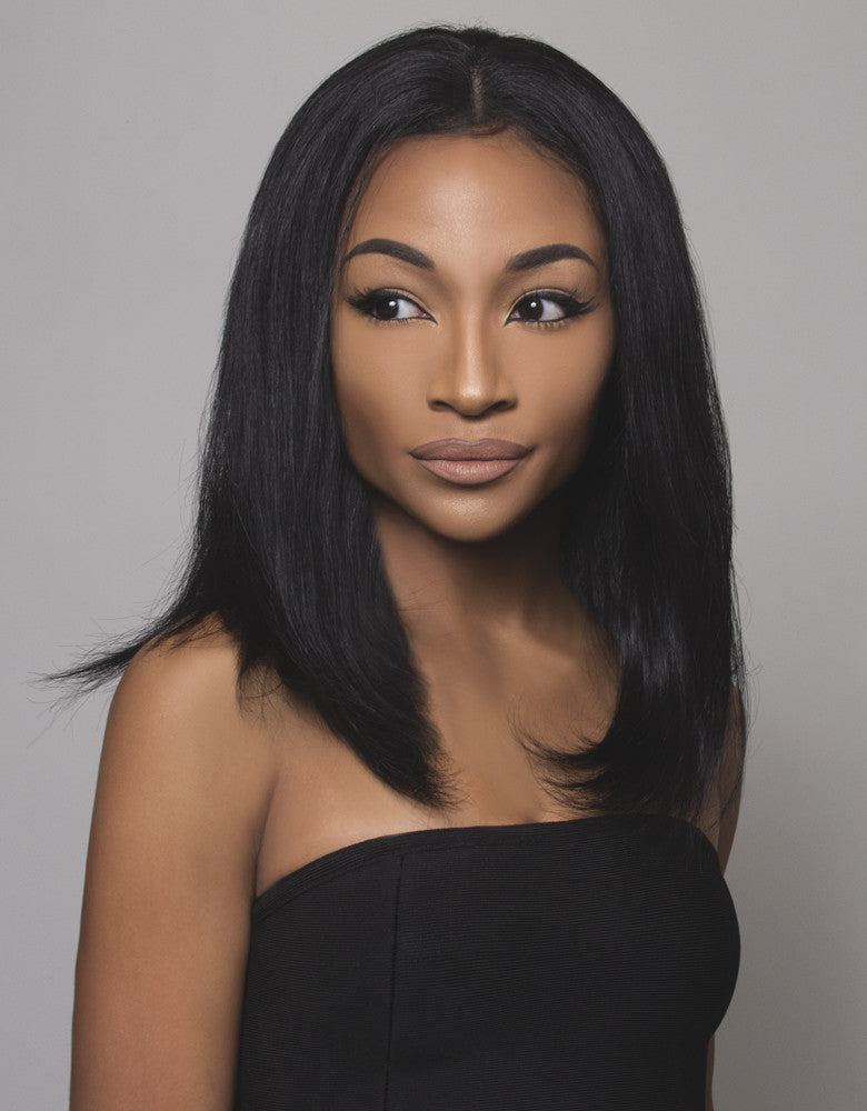 "BELLAMI Human Hair Wig Melina 14"" Straight"