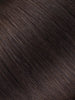 "BELLAMI BELL AIR 12"" 120g #1C MOCHACHINO BROWN Hair Extensions"