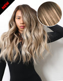 "Balayage 160g 20"" Hair Extensions  #2 Dark Brown/ #18 Dirty Blonde"