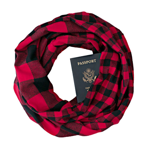 Tatanka Flannel Scarf - Speakeasy Travel Supply Co.