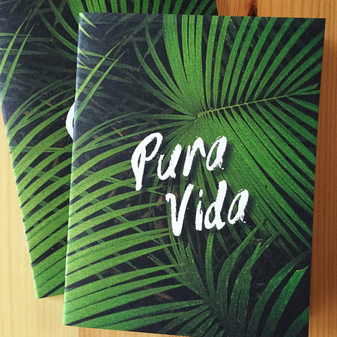 Pura Vida Tropicale Pocket Notebook - Speakeasy Travel Supply Co.