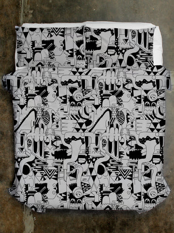 Mike Perry Quilt Cover