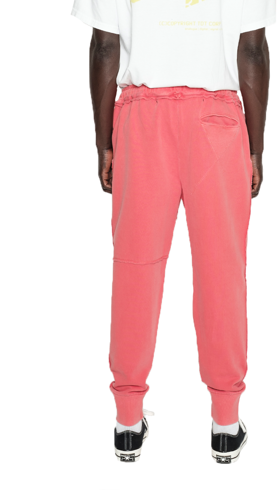 GYM SWEAT PANT-CORAL