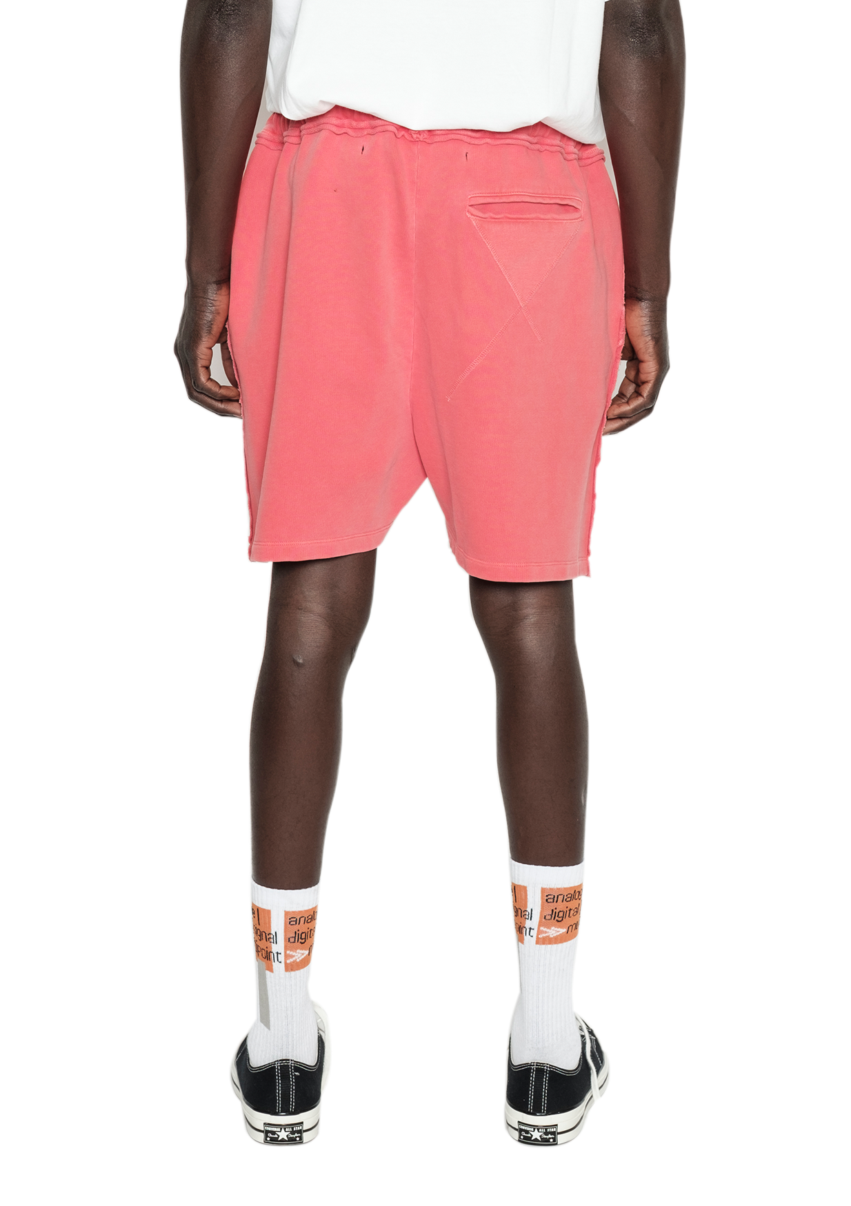 REFERENCE OG SWEAT SHORT CORAL