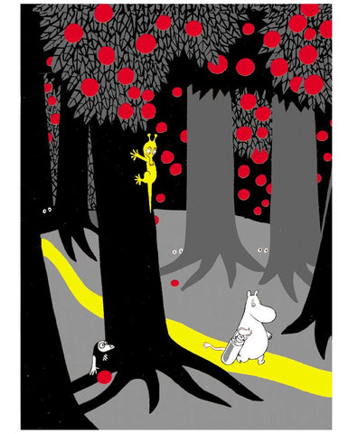 Print: Moomins - In the Forest