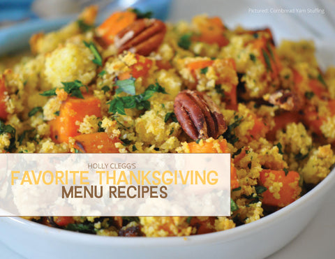 Favorite Thanksgiving Menu Recipes