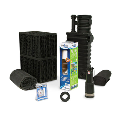 Main View-Rain Harvesting Kit RHKIT500DIV by Atlantic Water Gardens