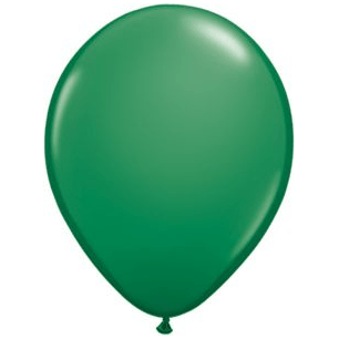 "11"" Latex Balloon, Grass Green available at Shop Sweet Lulu"