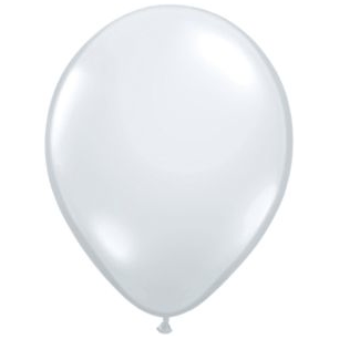 "11"" Latex Balloon, White Pearl available at Shop Sweet Lulu"