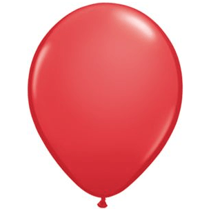"11"" Latex Balloon, Candy Apple Red available at Shop Sweet Lulu"