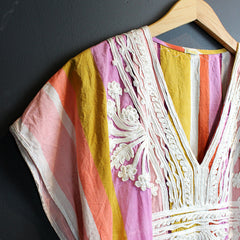 Multi Colored Embellished Kaftan