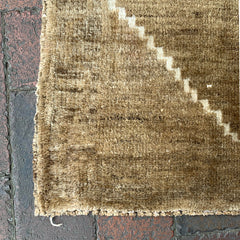 "Multi Colored Handwoven Small Turkish Rug - 1' 8"" x 3' 6"""