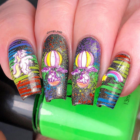 Fashion Nails - 3D 33 Water Decals