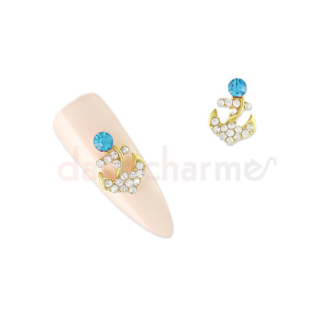 Daily Charme - Crystal Anchor / Blue