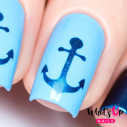 Whats Up Nails - Anchor Stencils