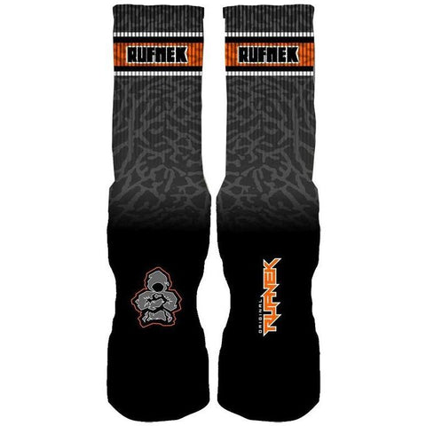 Rufnek Hardware Custom Fear Pack 3's Black Socks