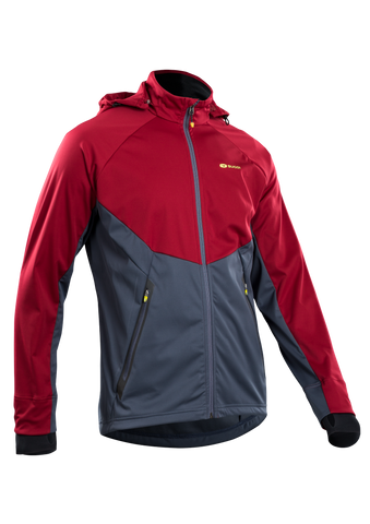 SUGOI Men's Firewall 180 Jacket, Varsity Red (U720000M)