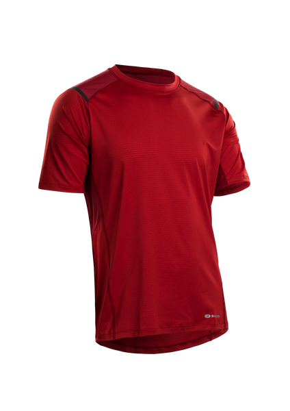 SUGOI Men's Titan S/S, Red Dahlia (U500100M)