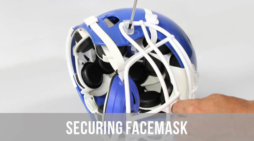 SECURING FACEMASK