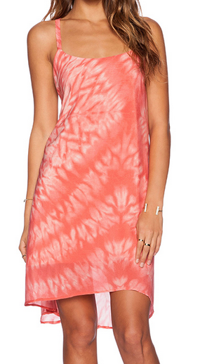 Winston White Coral Inca Dress
