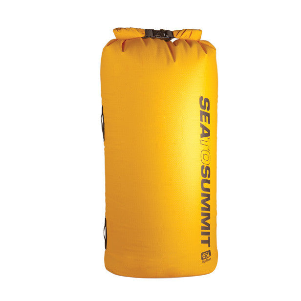 Sea To Summit Big River Dry Sack - Yellow - Find Your Feet Australia Tasmania Hobart Hiking Camping