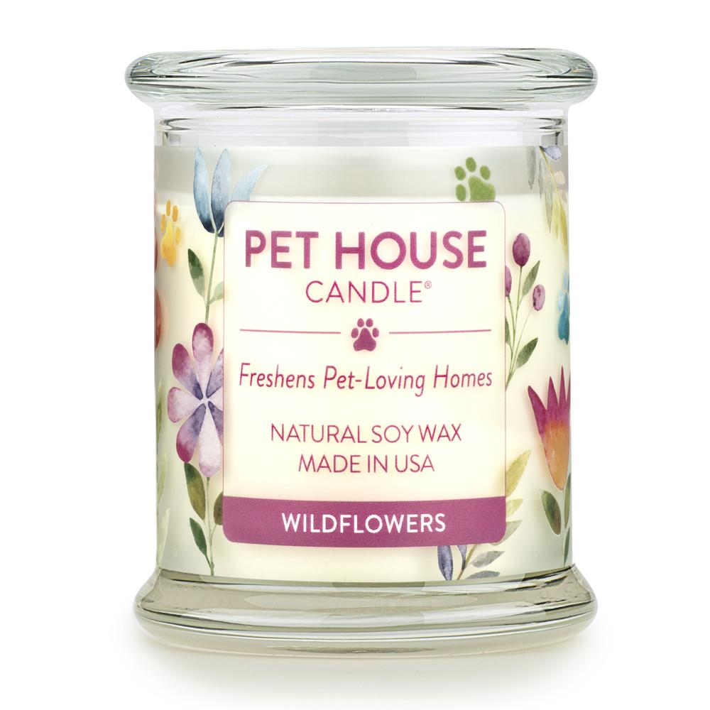 Wildflowers Pet House Candle