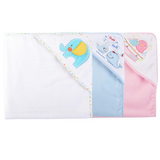 PREORDER ETA 1-15 Aug 2019 - Luvable Friends Baby Hooded Towel (76 x 76cm)