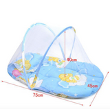 Baby Portable Bed With Mosquito Net And Pillow (SB)