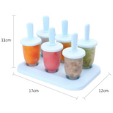 Ice Lolly Popsicle Mould