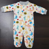 Korea MCC Baby Footed Jumpsuit - FJ007