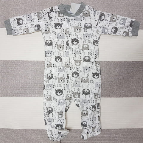 Korea MCC Baby Footed Jumpsuit - FJ013