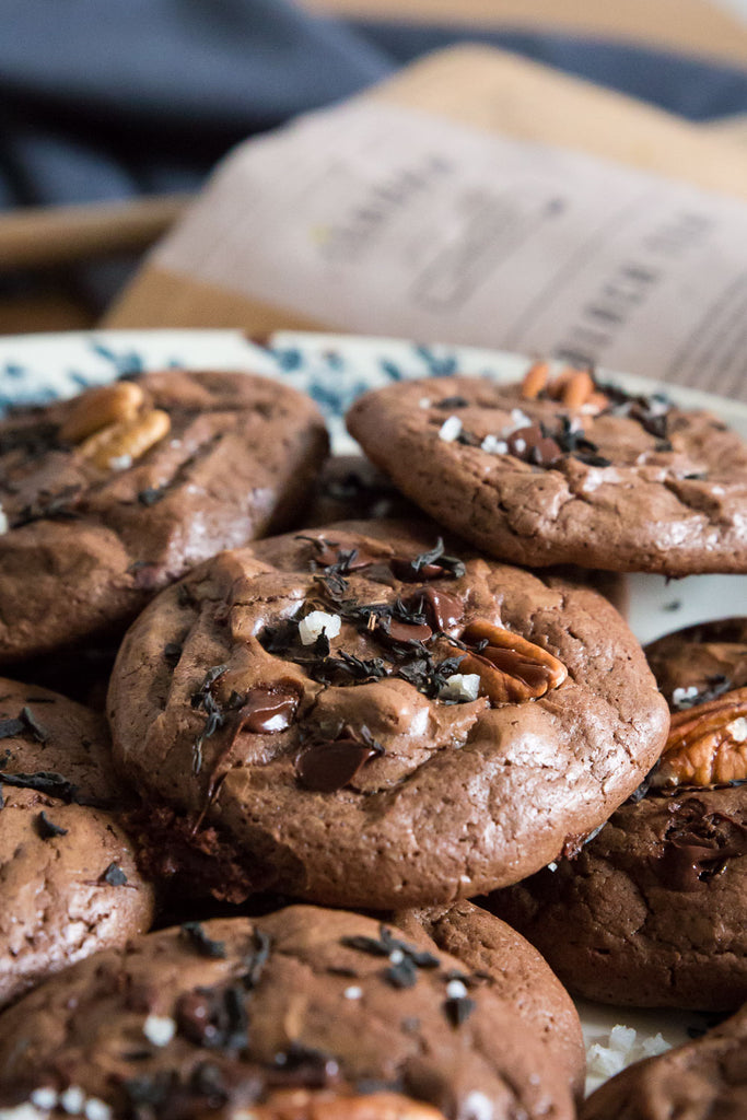 Double Chocolate Lychee cookies