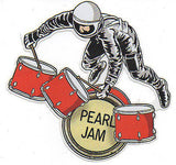 "KILLER MINT 2009 PEARL JAM ""BACKSPACER"" DIE-CUT PROMOTIONAL STICKER"