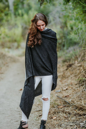 Hooded Travel Wrap