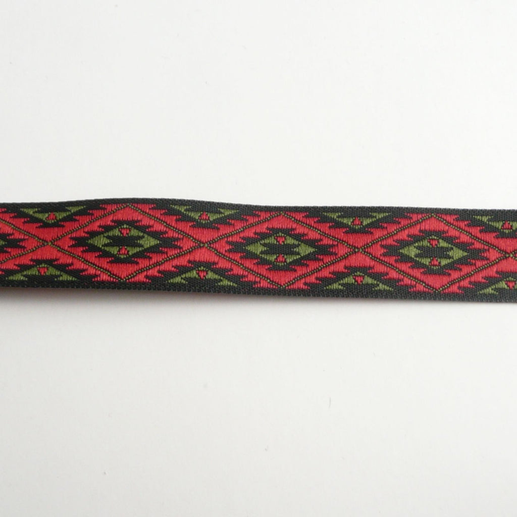 Aztec Contrast Ribbon 15mm wide