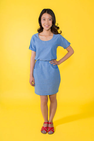 Tilly & The Buttons Bettine Dress Paper Pattern 1007