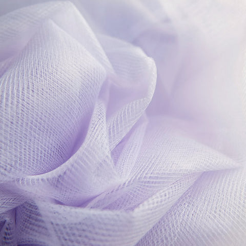 Lilac 300cm Wide Fine Tulle Fabric