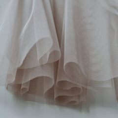 Soft Tulle Fabric 150cm Wide - Mink