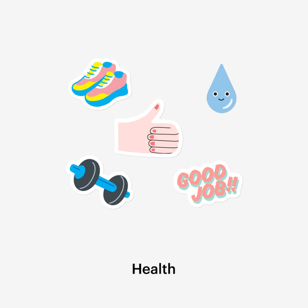 Health Sticker Pack