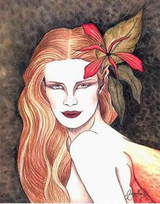 11 x 14 Jessica Galbreth Caelia Faerie Queen Signed Print -- Early Works