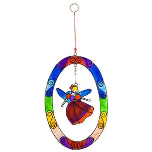 Rainbow Fairy Suncatcher