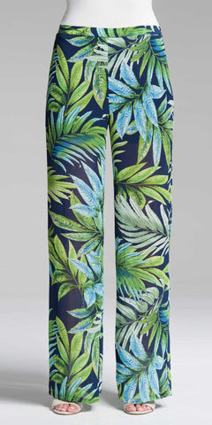 Smocking Waistband Pant - Tropical