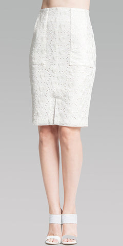 High Waist Classic Skirt