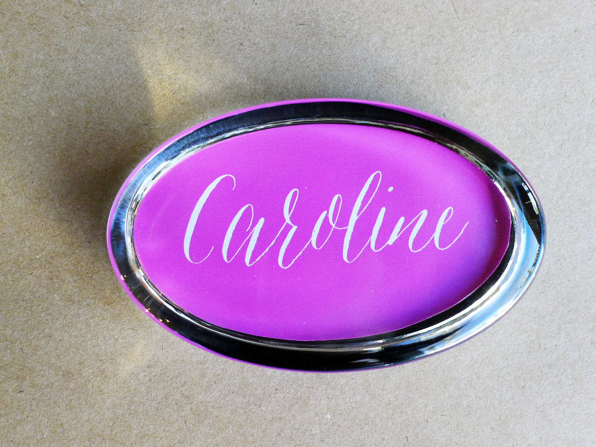 Paperweight - Calligraphy (more colors)