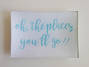 Oh the Places You'll Go Small Trinkets Tray