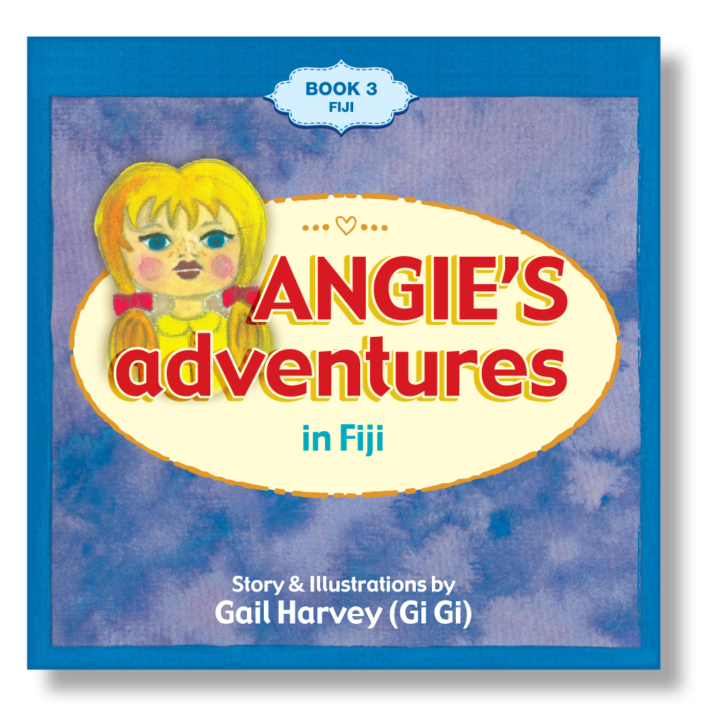 Angie's Adventures 'in Fiji' Book 3
