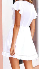 Shareen Collections 'Angelika' Dress in White