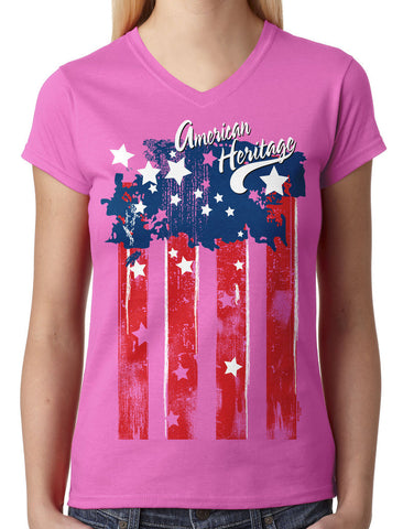 Superstar Marilyn Monroe Junior Ladies V-neck T-shirt