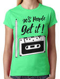 90's People Get It Cassette Tape Junior Ladies T-shirt