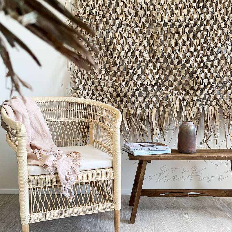 Malawi Chair Natural from Souk Collective NZ